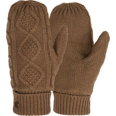 Sonia Mittens - Mitaines en tricot pour adulte