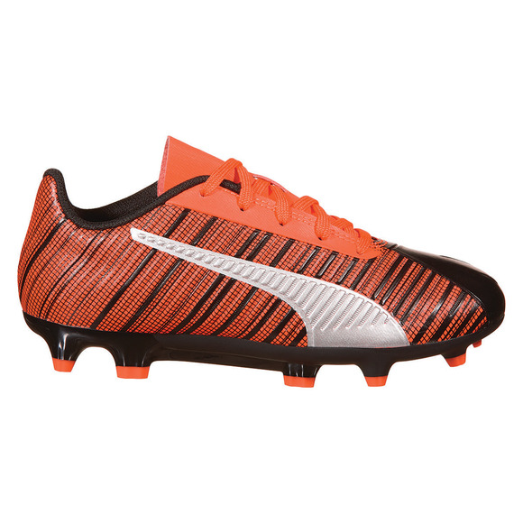 One 5.4 FG/AG Jr - Chaussures de soccer extérieur pour junior