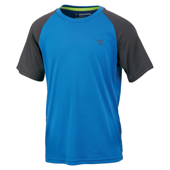Raglan Tech Jr - Boys' T-Shirt