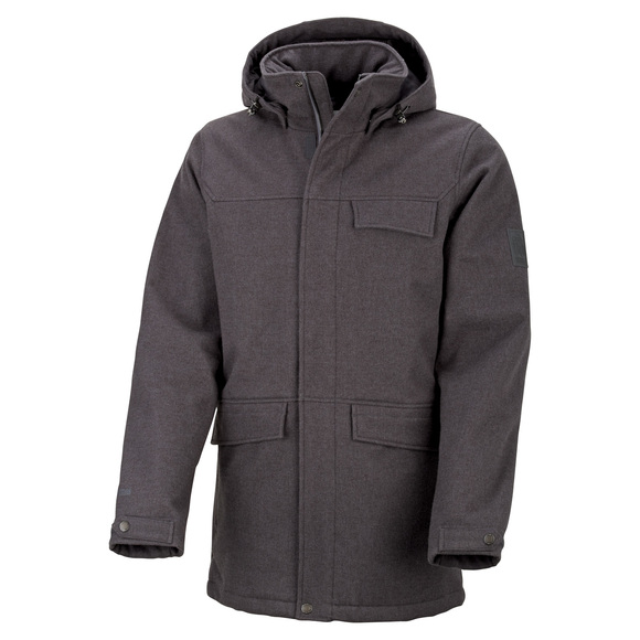 Baia - Men's Softshell Hooded Parka