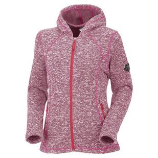 Lanai - Blouson à capuchon en laine polaire pour femme