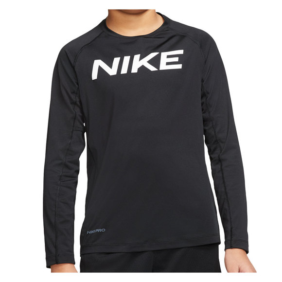 Pro Jr - Boys' Athletic Long-Sleeved Shirt