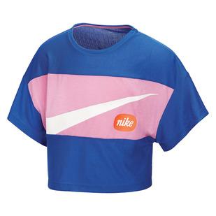 Big Kids Jr - Girls' Cropped T-Shirt