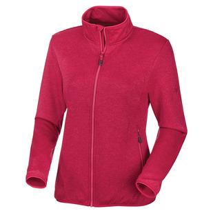 Roto II - Blouson en laine polaire extensible pour femme