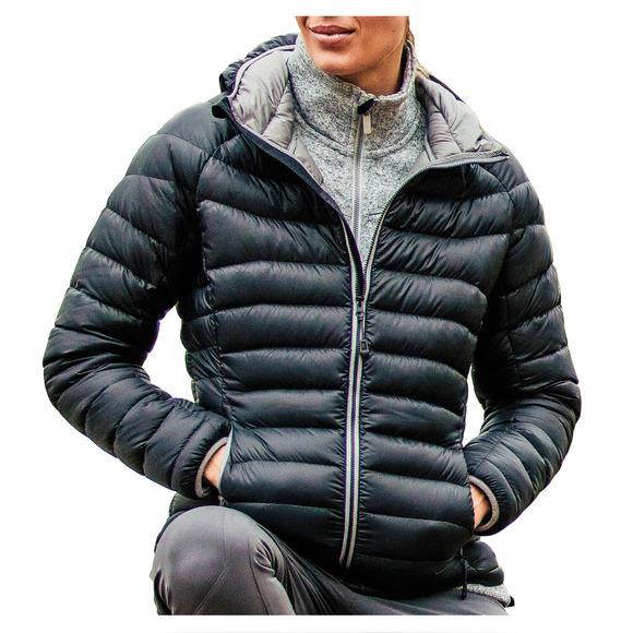 Patos II - Manteau à capuchon en duvet pour femme