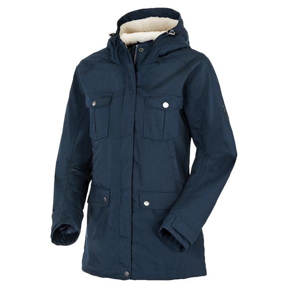 Lobito - Manteau à capuchon pour femme
