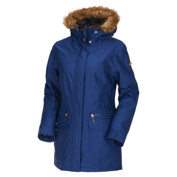 Brigid - Manteau à capuchon pour femme