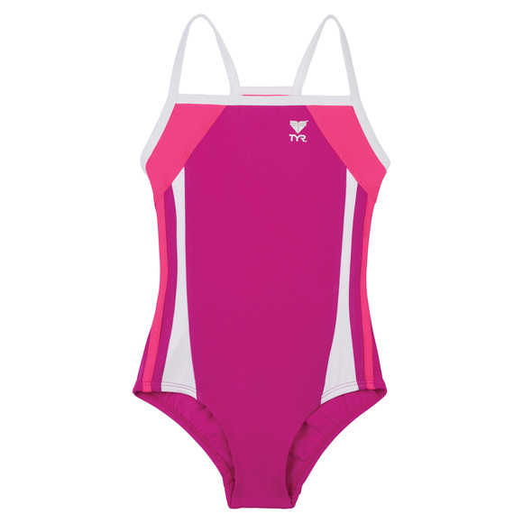 Sportback - Girls' One-piece Swimsuit