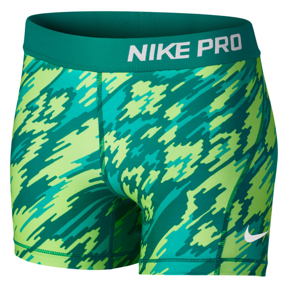Pro Cool AOP2 Jr - Girls' Compression Shorts