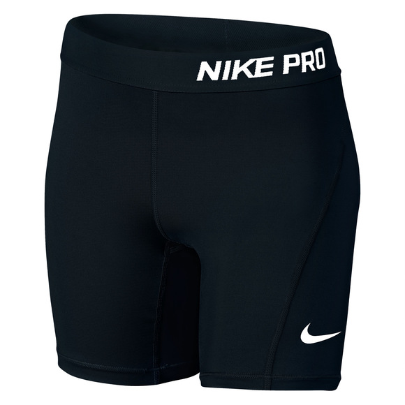 Pro Cool Mid Jr - Girls' Compression Shorts