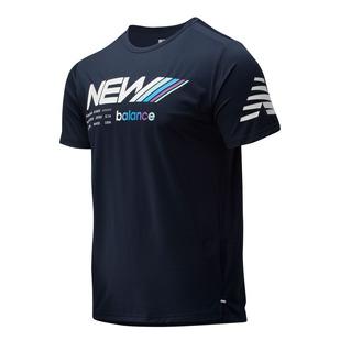 Velocity - T-shirt de course pour homme