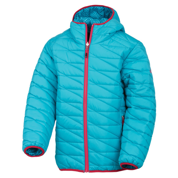 Riley - Girls' reversible jacket