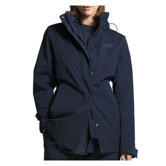 Westoak City Trench - Manteau de pluie pour femme