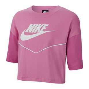Sportswear Heritage - T-shirt écourté pour femme