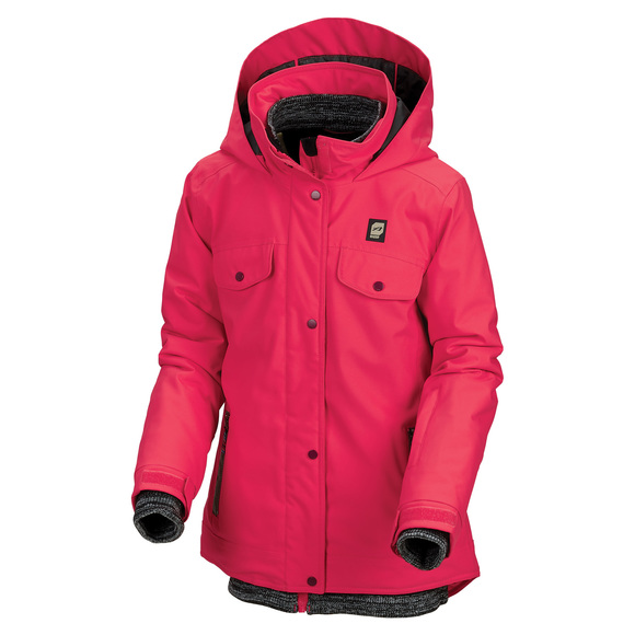 Sequal Jr - Girls' Hooded Jacket