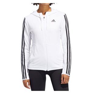 3-Stripes - Women's Full-Zip Hoodie