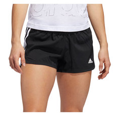 Pacer 3-Stripes Woven - Women's Running Shorts