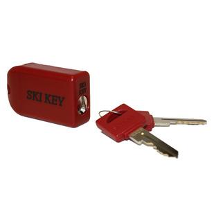 Ski Key - Ski or Snowboard Lock