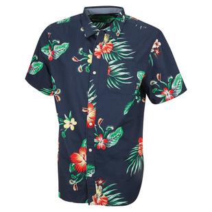 Trap Floral - Men's Short-Sleeved Shirt