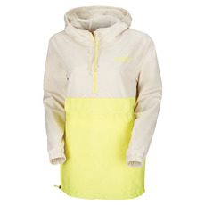 Up the Ante Long - Women's Anorak-Style Hooded Jacket