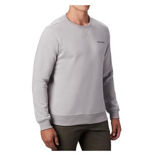 Logo Fleece - Men's Long-Sleeved Shirt