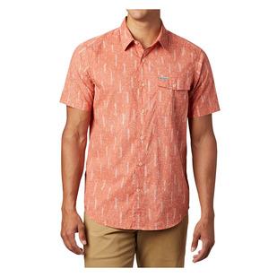 Summer Chill - Men's Short-Sleeved Shirt