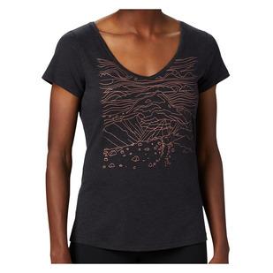 Hidden Lake (Plus Size) - Women's T-Shirt