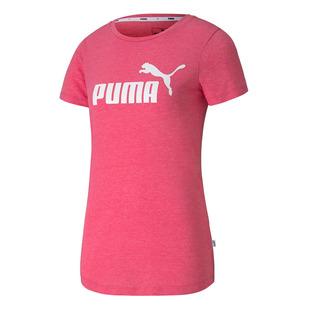 Ess+ Logo Heather - T-shirt pour femme