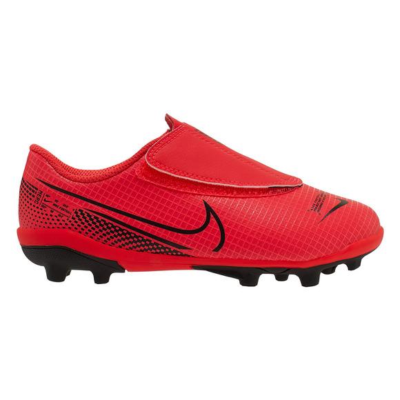 Mercurial Vapor 13 Club MG PS (Velcro) - Kids Outdoor Soccer Shoes