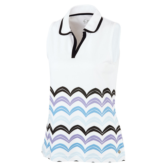 Beatrice - Women's Sleeveless Golf Polo