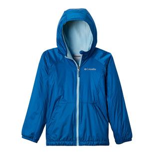 Ethan Pond - Girls' Fleece-Lined Hooded Jacket