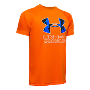 Tech Hybrid Print Jr - T-shirt athlétique pour garçon