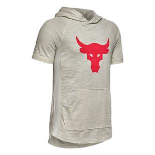 Project Rock Jr - T-shirt à capuchon pour garçon