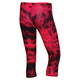 TechFit Q3 Print - Women's Compression Capri Pants - 1