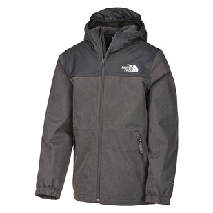 Warm Storm Jr - Manteau imperméable à capuchon pour garçon
