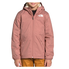 Warm Storm Jr - Girls' Hooded Rain Jacket