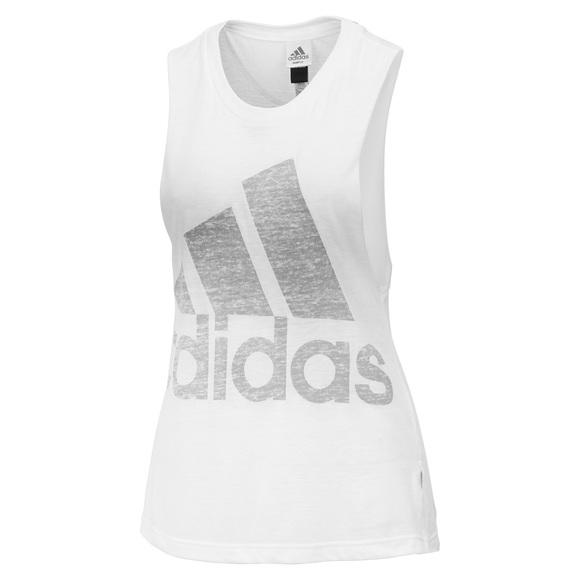 Logo - T-shirt sans manches pour femme