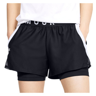 Play Up - Women's 2-in-1 Training Shorts