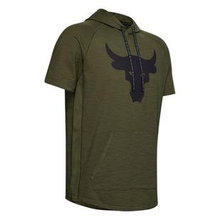 Project Rock Charged - T-shirt à capuchon pour homme