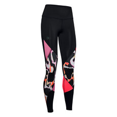 Rush Print Color Block - Collant de compression pour femme