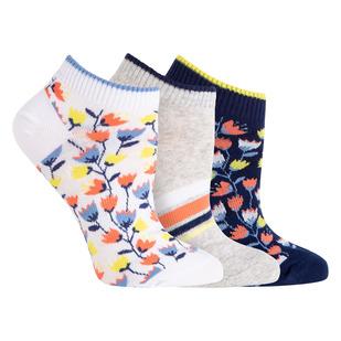 No Show - Socquettes pour femme (paquet de 3 paires)