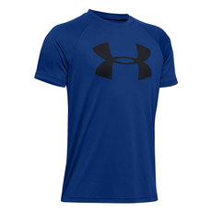 Tech Big Logo Jr - Boys' Athletic T-Shirt