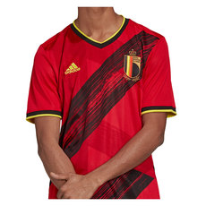 Euro 2020 Belgium (Home) - Adult Soccer Jersey