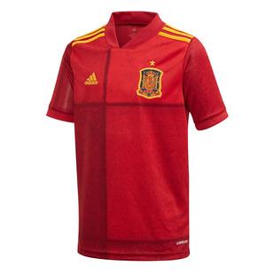 Euro 2020 Espagne Jr (à domicile) - Jersey de soccer réplique pour junior