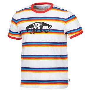 OTW Stripe Jr - Girls' T-Shirt