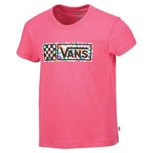 Rainbow Leopard Jr - T-shirt pour fille