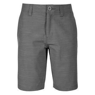 Scott Space Dye Jr - Boys' Hybrid Shorts