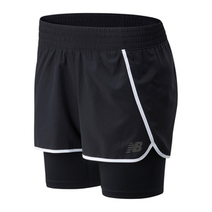Sport - Women's 2-in-1 Running Shorts