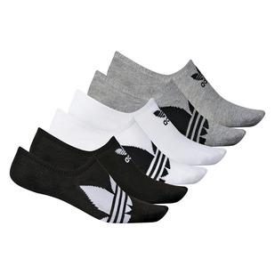 Trefoil Super No Show - Men's Ankle Socks (Pack of 6 Pairs)