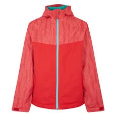 Alexandra II Jr - Girls' Hooded Rain Jacket